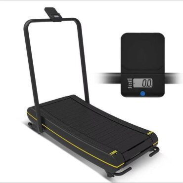 Curved Treadmill for Home use and Commercial Use Manual Running Machine