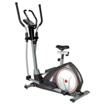 Elliptical Bike and Upright Exercise Bike 2 in 1 Cardio Dual Trainer