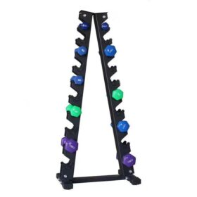 Fitness Dumbbell Rack Dumbbell Rack Stand Only Gym 10 Pairs