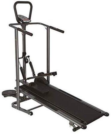 Flat Walker Folding Portable Incline Manual Treadmill