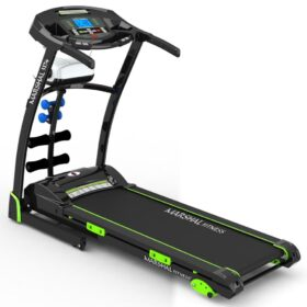 Home Use Motorized Treadmill 3.0HP Motor - 120KG Max User Weight