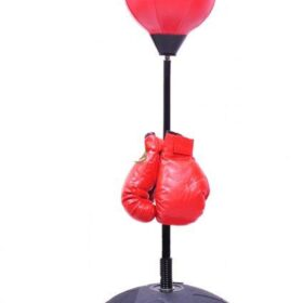 Kids Authority Children Boxing Set - Punching bag with gloves and adjustable 80-110cm (32-43inch) Stand