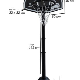 Kids Basketball Stand Outdoor Children Adult Backboard Game Sports Training Toy