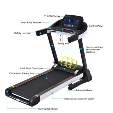 Low Noise Two Motors Home Use Treadmill