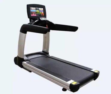 Multi Exercise Program Heavy Duty Treadmill Touch Screen AC-TV