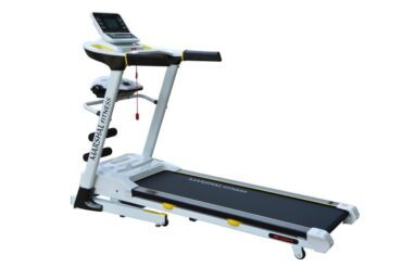 Multi Function DC Motorized 4.0 HP Treadmill with LCD Screen and Massager