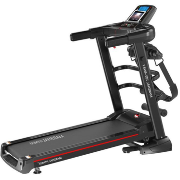 NR- Home Use Foldable Jogging Machine With Massager and Space Saving Treadmill