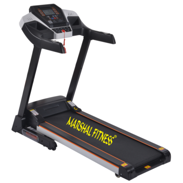 Space Saving Folding Exercise Electric Motorized One Way Running Treadmill Adjustment for Home and Gym
