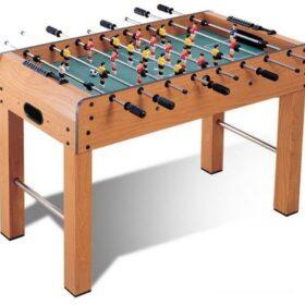 Standing Foosball Soccer Table Family Game Wooden W Legs-MF-4064
