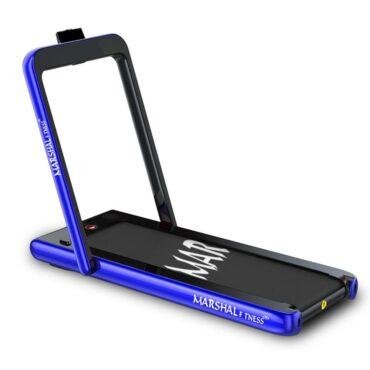 Walking Pad Treadmill 2 in1 Running Machine Under Treadmill Desk – Blue