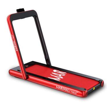 Walking Pad Treadmill 2 in1 Running Machine Under Treadmill Desk - RED