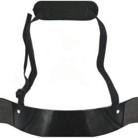 Weightlifting Arm Blaster Adjustable Bodybuilding Bomber Bicep black color - 0124